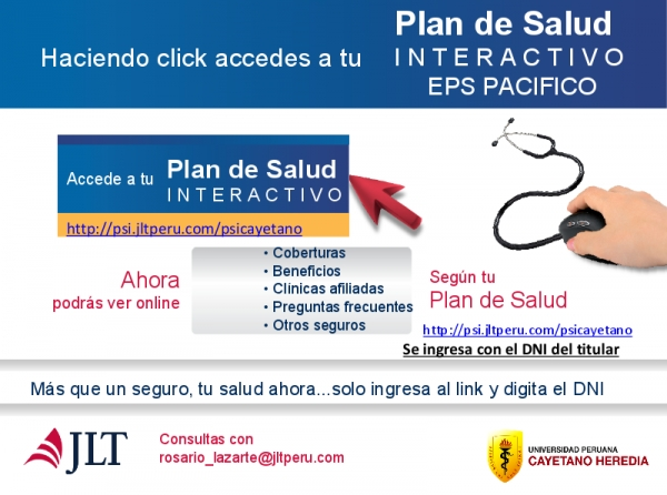 PLAN DE SALUD INTERACTIVO EPS PACIFICO